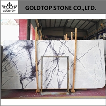 Milas White, New York Marble, Lilac Marlbe Slabs