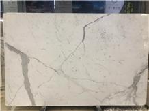 White Calacatta White Marble Slabs