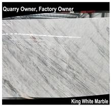 King/Well White Marble Slabs/Tiles for Floor Wall