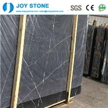 China Nero Marquina Marble Big Slabs for Sale
