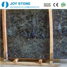 Lemurian Blue Granite Luxurious Polish Slabs Tiles