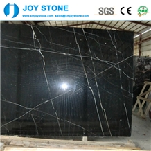 Whole Sales Nero Marquina Marble Gangsaw Slabs