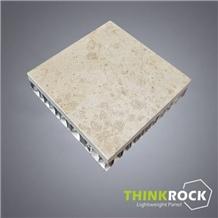 Coral Beige Limestone Aluminium Honeycomb Panel