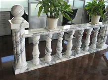 Outdoor Terrace Decorative Stone Carved Balustrade