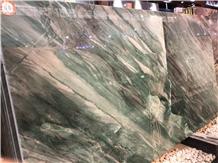 Pampers Green Quartzite Polished Big Slabs