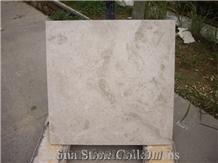 Ivory Light Beige Limestone Flooring Tiles