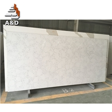 Quartz Stones Popular Calacatta White Slabs