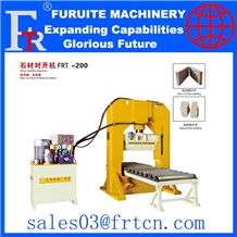 Frt-200 Stone Splitting Machine Saw Cut Natural