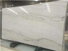Natural Aquarius White Macaubas Fantasy Quartzite