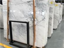 California White Marble Slab for Kitchen Worktops