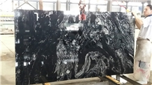 Nero Fantasy,China Black Granite,Royal Ballet Slab