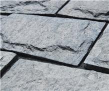 Dark Grey Granite Mushroom Garden Walling Stone