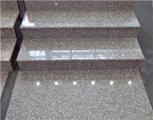 G664 Red Granite Tiles for Stairs Steps and Riser