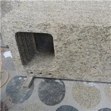 Giallo Santa Cecilia Granite Bathroom Vanity Tops