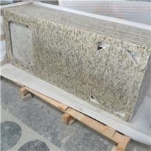 Giallo Santa Cecilia Granite Countertops
