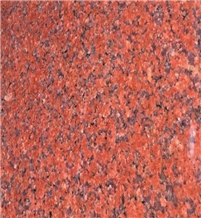 India Imperial Red Granite Polished Slabs & Tiles
