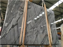 Polished Cheap China Blue Bruce Marble Stone Slabs