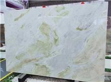Polished Cheap China Lemon Ice Marble Tiles Slabs