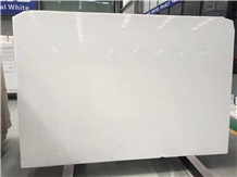Polished Vietnam Crystal Pure White Marble Slabs