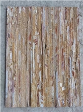 Wood Sandstone Feature Wall Culture Stone