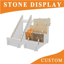 Granite Stone Display Rack