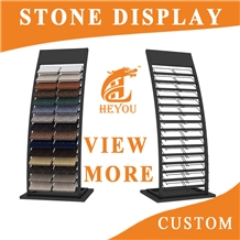 Waterfall Display Rack for Stone Custom Factory