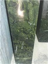 Dark Jungle Green Granite Steps
