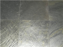 Polished Slate Ocean Green Tiles