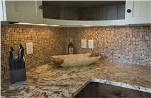 Juparana Persa Granite Kitchen Countertop