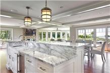 Calacatta Latte Quartzite Kitchen Countertop