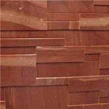 Shoksha Crimson Quartzite Wall Cladding