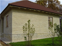 Borodinsky Dolomite Building, Masonry