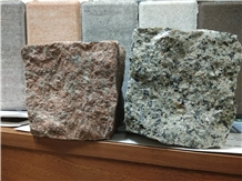 Unigran Grey Ukraine Cube Stone