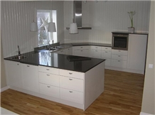 Nero Assoluto Granite Kitchen Countertops