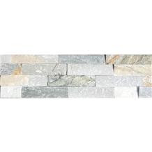 Grey White and Cream-Colored Ledge Stone