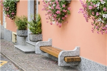 Serizzo Street Furniture- Urban Benches