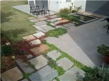 Imperial Gray Limestone Landscaping, Patio Pavers