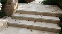 Jerusalem Bone Stone Steps