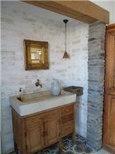 Ramon Cream Limestone Custom Farm Wash Basin