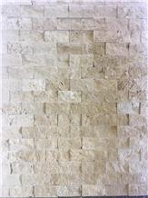 Classic Ivory Travertine Ledge Stone Wall Cladding Panels