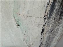 Opera Green Marble Slabs, Tiles