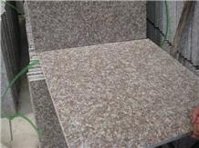 G687 Granite Tiles, Peach Red Granite