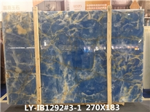 Blue Onyx Slabs Onice Walling Dream Ocean Onyx