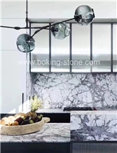 Brazil Invisible Grey Marble Countertop