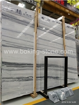 Natural Snow Grey Wooden Marble Platinum Striato