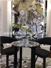 White Beauty Marble Tiles Slabs Customize Tables