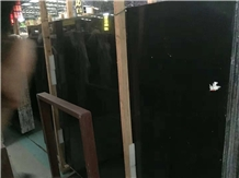 China Black Marble- Nero Marquina Marble Less Vein Slab,Tile
