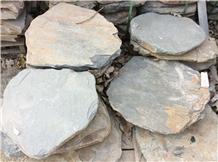 Flagstone Courtyard, Garden Step Stone