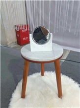 White Marble Coffee Table and Side Table