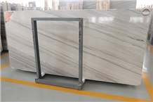 Joyace Prossnadro White Wooden Marble Slab 1.8cm